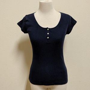 Lauren Ralph Lauren size small top blue